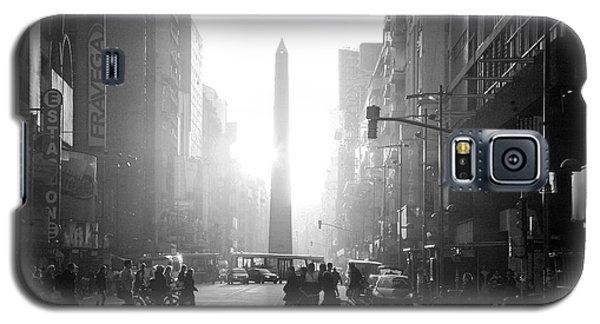 Galaxy S5 Case featuring the photograph Timeless Buenos Aires by Bernardo Galmarini