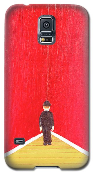 Galaxy S5 Case featuring the painting Timeout by Thomas Blood