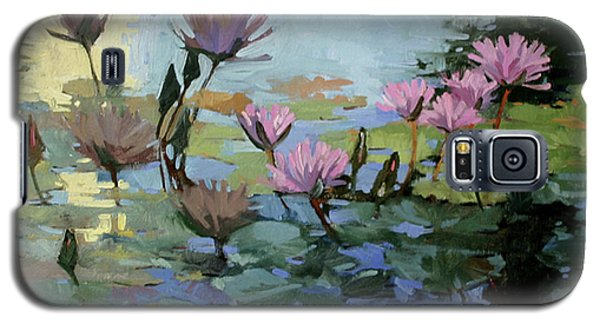 Times Between - Water Lilies Galaxy S5 Case