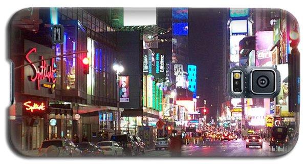 Times Square In The Rain 2 Galaxy S5 Case