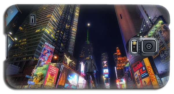 Times Square Moonlight Galaxy S5 Case