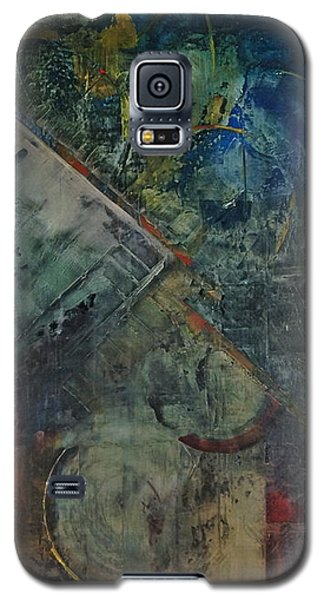 Galaxy S5 Case featuring the painting Timethief by Helen Harris