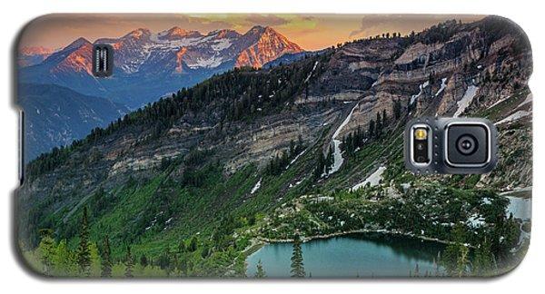 Timpanogos And Silver Lake. Galaxy S5 Case