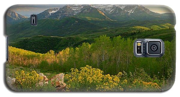 Timpanogos From Mill Canyon Peak. Galaxy S5 Case