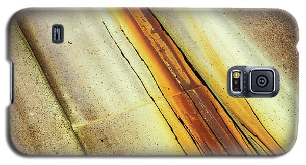Tin Roof Abstract Galaxy S5 Case