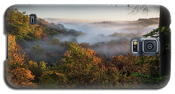 Galaxy S5 Case featuring the photograph Tinkers Creek Gorge Overlook by Dale Kincaid