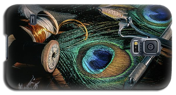 Galaxy S5 Case featuring the photograph Tinsel Rust Nymph by Jeffrey Jensen