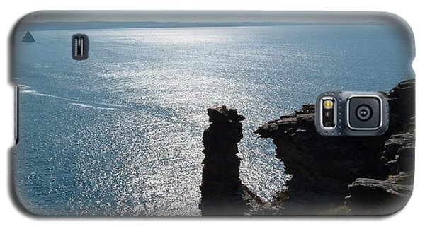 Tintagel Stack Cornwall Galaxy S5 Case