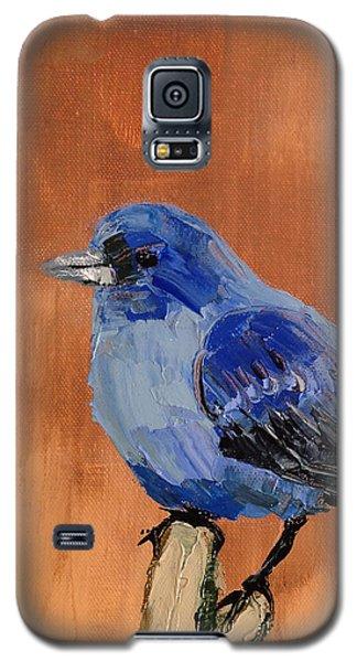 Tiny Blue Galaxy S5 Case