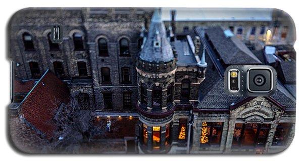 Tiny Pabst Castle Galaxy S5 Case