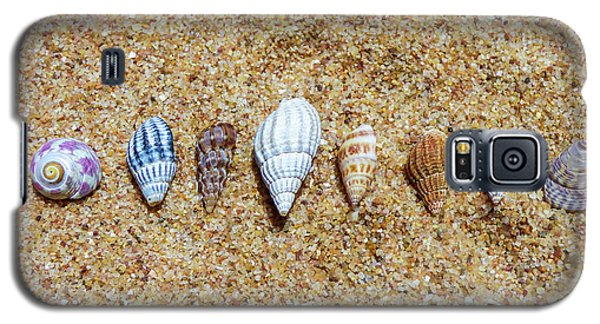 Tiny Seashells On The Sand Galaxy S5 Case