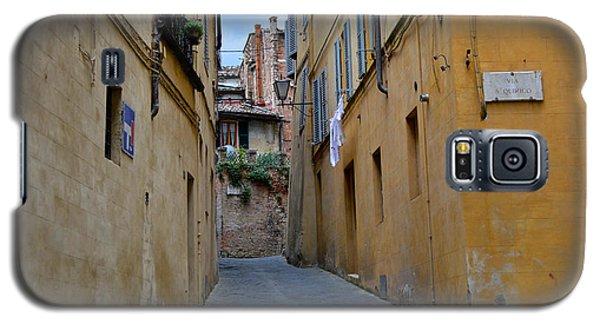 Tiny Street In Siena Galaxy S5 Case