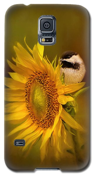 Tiny Surprise Bird Art Galaxy S5 Case