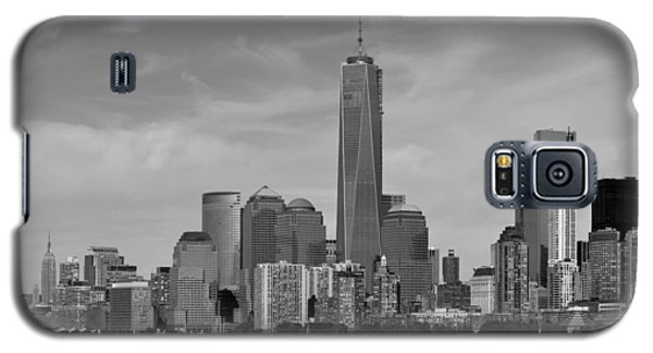Tip Of Manhattan Galaxy S5 Case by Yue Wang