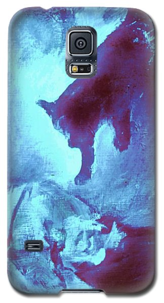 Tip Toeing On Little Cat Feet Galaxy S5 Case