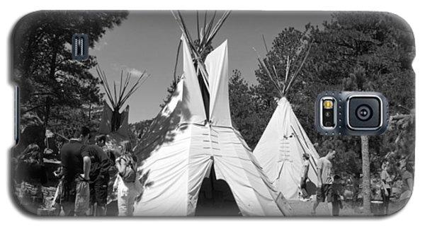 Tipis In Black Hills Galaxy S5 Case by Matt Harang