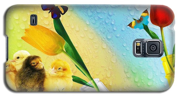 Tiptoe Through The Tulips Galaxy S5 Case