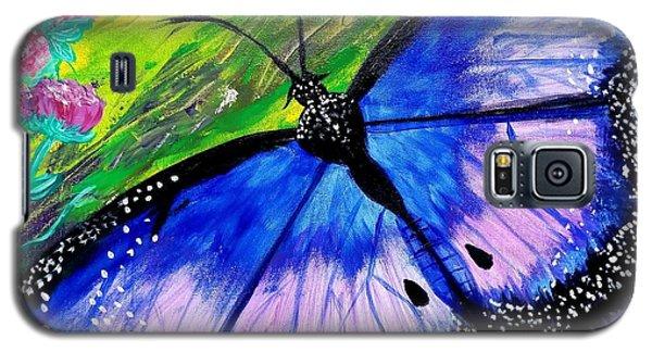 Titanium Butterfly Galaxy S5 Case