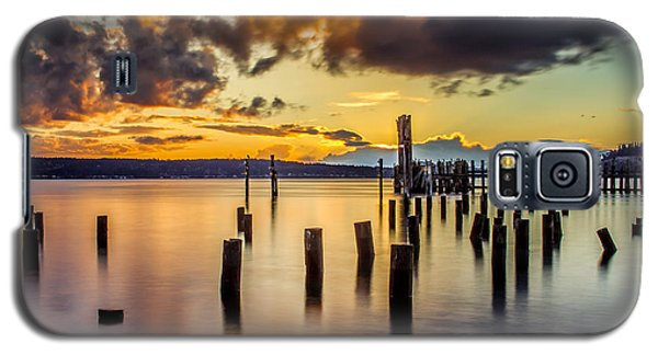 Titlow Beach Sunset Galaxy S5 Case