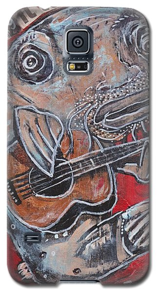 Blues Cat Galaxy S5 Case