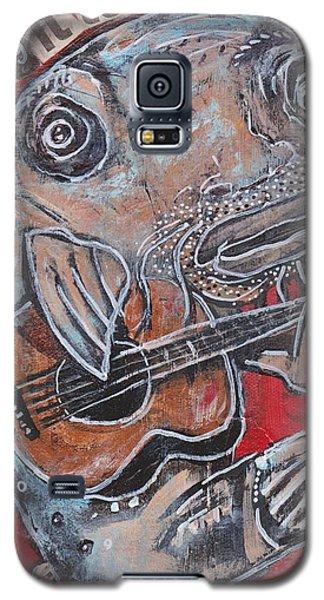 Blues Cat Galaxy S5 Case