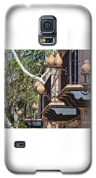 Galaxy S5 Case featuring the photograph Tlaquepaque Balconies by Chris Dutton