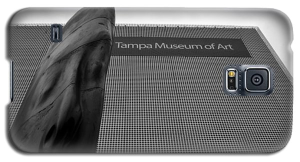 Galaxy S5 Case featuring the photograph Tampa Museum Of Art Work A by David Lee Thompson