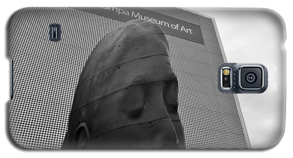 Galaxy S5 Case featuring the photograph Tampa Museum Of Art Work B by David Lee Thompson