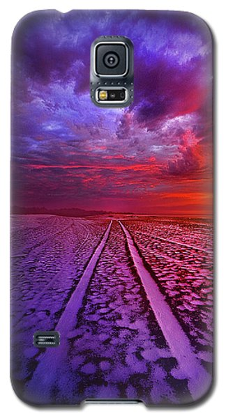 Galaxy S5 Case featuring the photograph To All Ends Of The World by Phil Koch