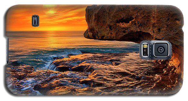 To God Be The Glory - Sunrise Over Ocean Reef Park On Singer Island Florida Galaxy S5 Case