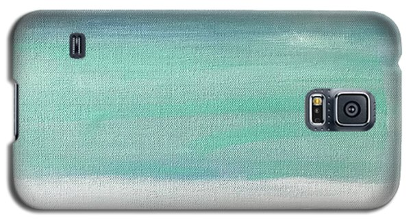 Galaxy S5 Case featuring the painting To The Moon by Kim Nelson