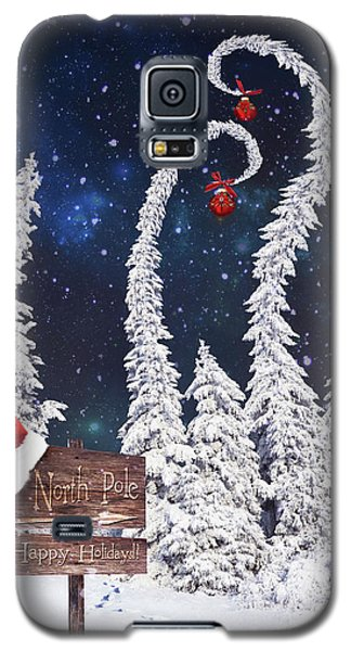 To The North Pole Galaxy S5 Case