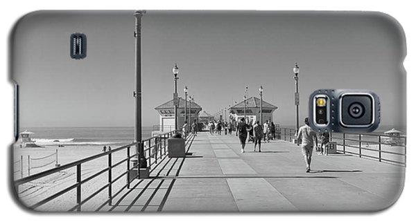 To The Sea On Huntington Beach Pier Galaxy S5 Case