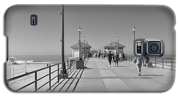 To The Sea On Huntington Beach Pier Galaxy S5 Case
