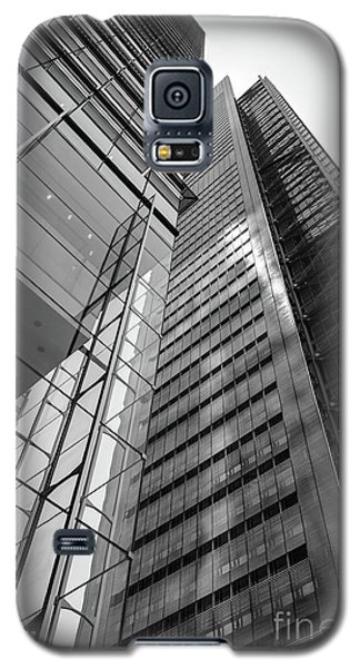 Galaxy S5 Case featuring the photograph To The Top   -27870-bw by John Bald