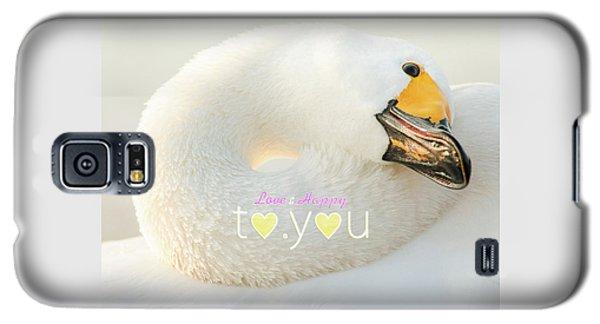 Galaxy S5 Case featuring the photograph To You #001 by Tatsuya Atarashi