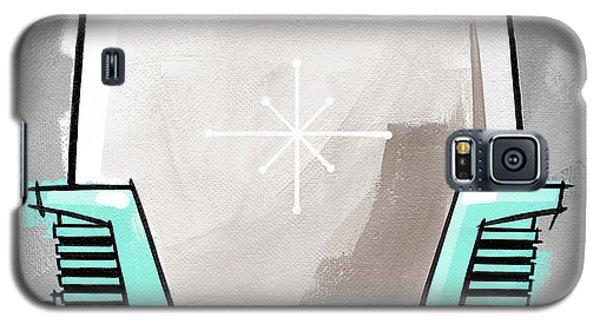 Toaster Aqua Galaxy S5 Case