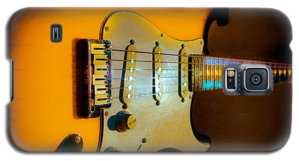 Tobacco Burst Stratocaster Glow Neck Series Galaxy S5 Case