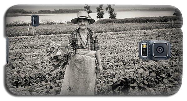 Tobacco Farm Galaxy S5 Case