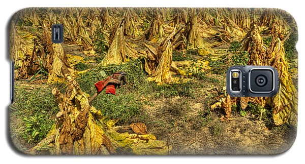 Galaxy S5 Case featuring the photograph Tobacco Patch by Wendell Thompson