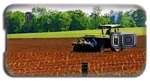 Tobacco Planting Galaxy S5 Case
