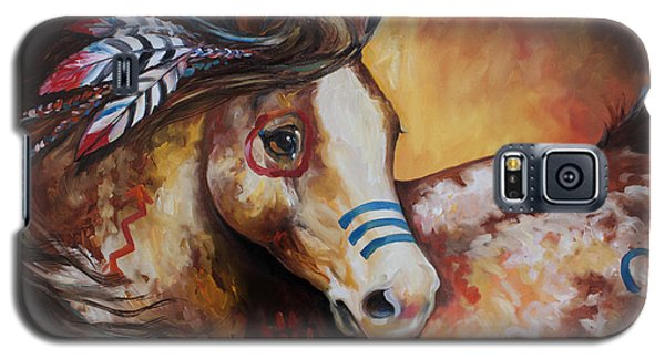 Tobiano Indian War Horse Galaxy S5 Case