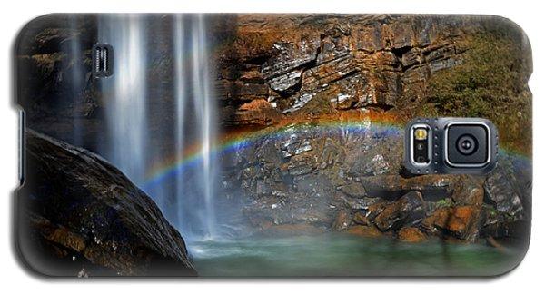 Toccoa Falls Rainbow 001 Galaxy S5 Case