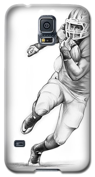 Todd Gurley Galaxy S5 Case by Greg Joens