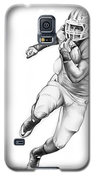 Todd Gurley Galaxy S5 Case by Greg Joens
