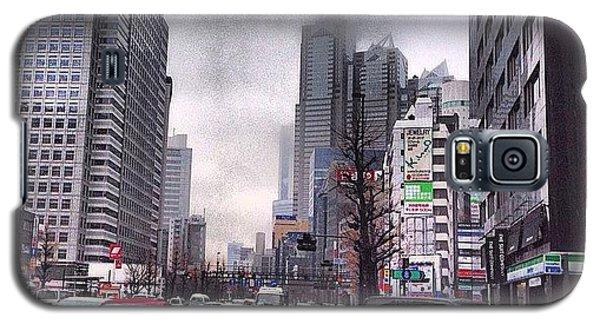 Tokyo Cloudy Galaxy S5 Case by Moto Moto