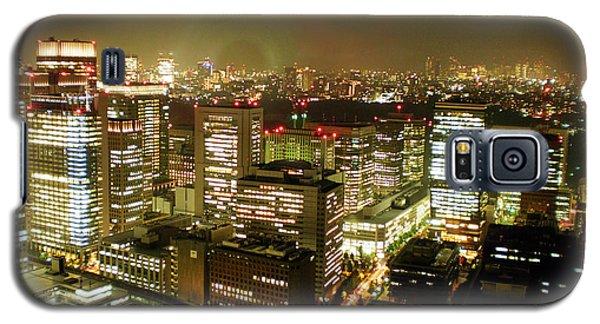 Tokyo Skyline Galaxy S5 Case by Nancy Ingersoll