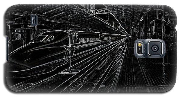 Tokyo To Kyoto, Bullet Train, Japan Negative Galaxy S5 Case