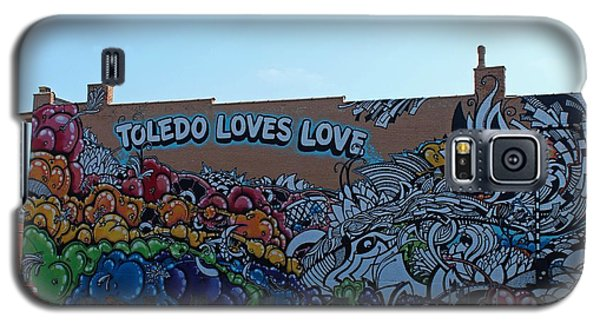 Galaxy S5 Case featuring the photograph Toledo Loves Love by Michiale Schneider