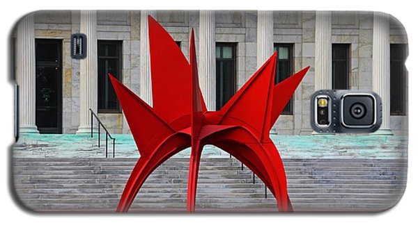 Toledo Museum Of Art With Alexander Calder 1973 'stegosaurus' II Galaxy S5 Case